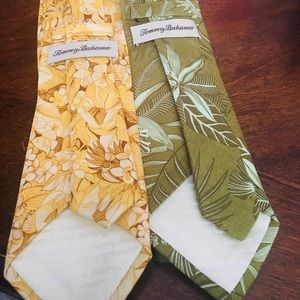 Tommy Bahama Ties Lot of 2